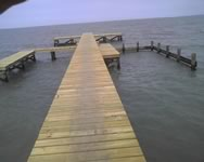 Fishing Pier- New Construction - Indianola, Texas
